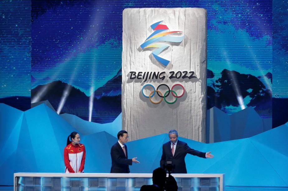 Le logo des Jeux olympiques de Pékin de... (Photo Jason Lee, Reuters)