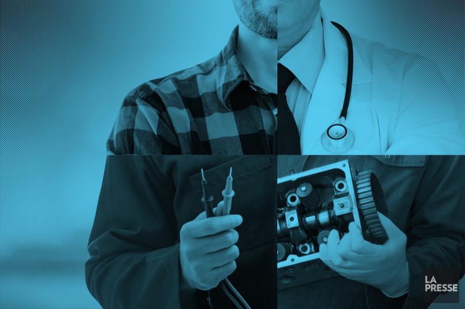Mettez le commun des mortels face à un mécanicien, un... (Photomontage La Presse)