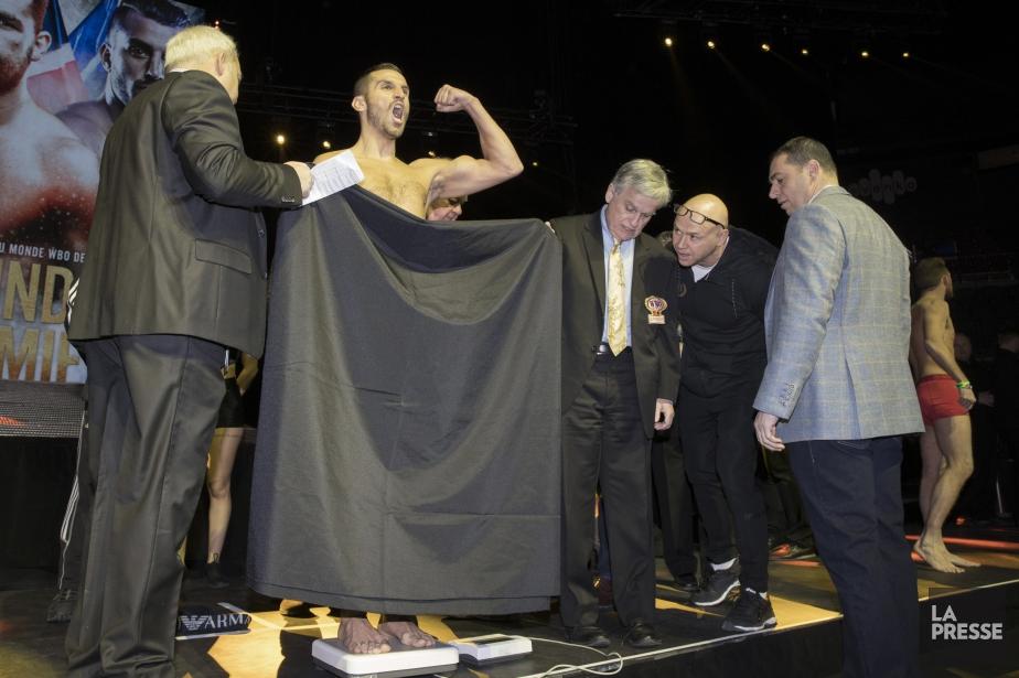 David Lemieux a dû retirer son caleçon pour... (Photo Ivanoh Demers, La Presse)