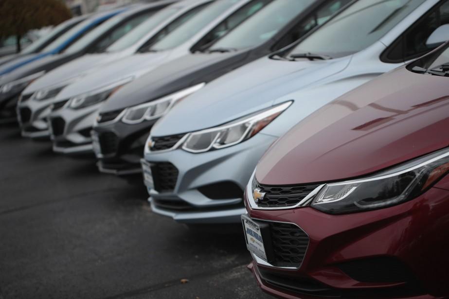 Après deux mois de croissance, les ventes des fabricants... (PHOTO ARCHIVES AFP)