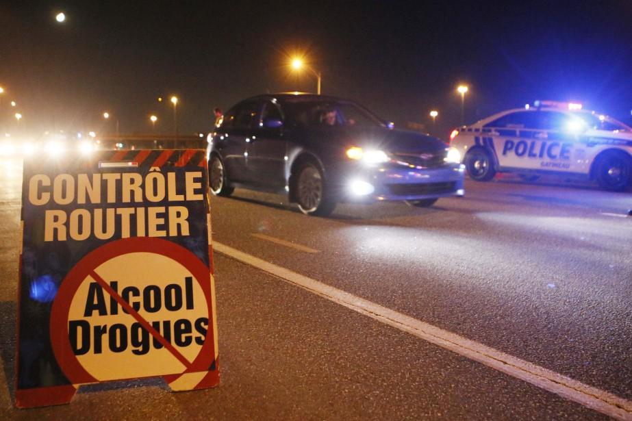 1 087 opérations policières ciblant la capacité de... (Photo Le Droit)