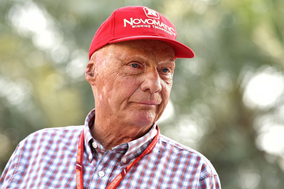 Niki Lauda... (PHOTO ANDREJ ISAKOVIC, AFP)