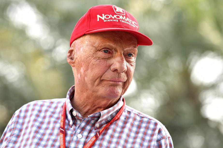Niki Lauda... (PHOTO ANDREJ ISAKOVIC, AFP)