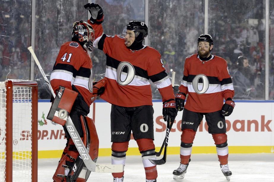 Craig Andersona bloqué 28 tirs pour son deuxième... (Photo Adrian Wyld, La Presse canadienne)