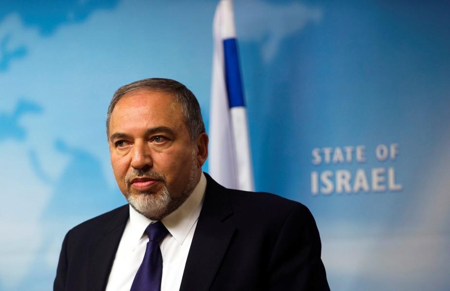 Le ministre de la Défense israélien, Avigdor Lieberman.... (ARCHIVES REUTERS)
