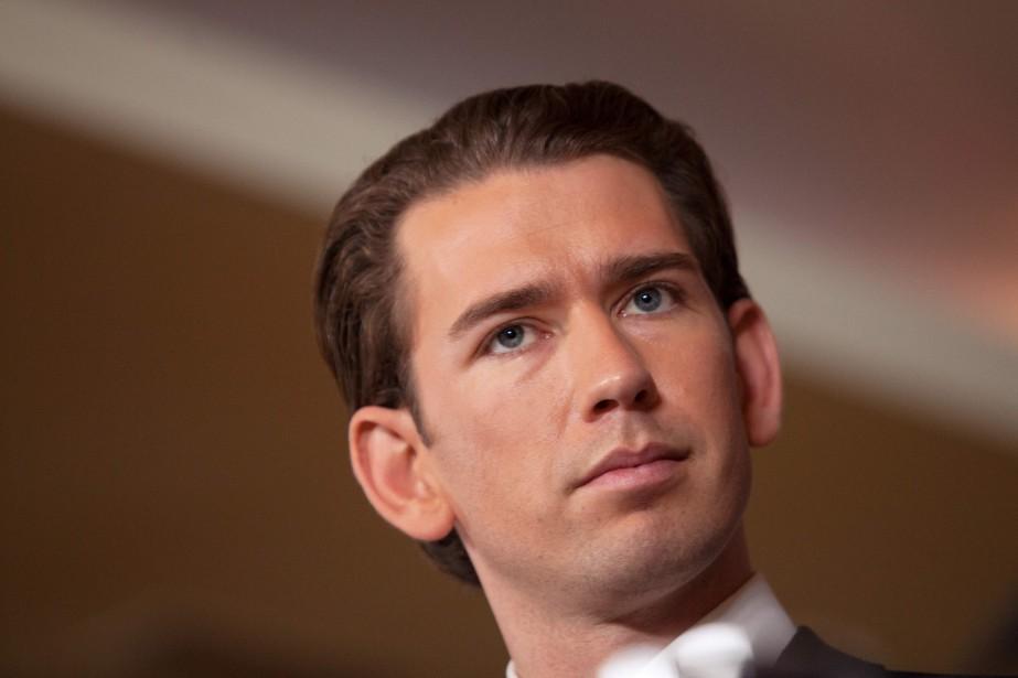 À 31 ans, le conservateur Sebastian Kurz devient... (AFP)