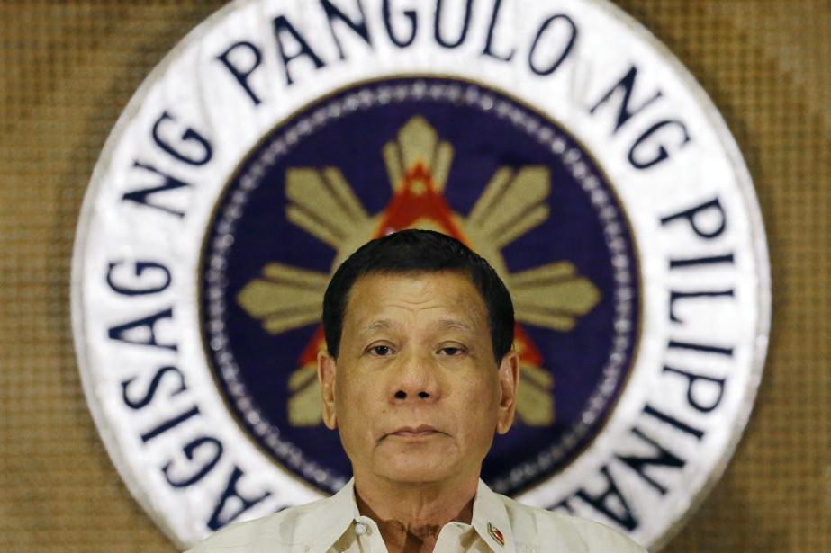 Le président Rodrigo Duterte, arrivé au pouvoir en... (Photo Aaron Favila, AP)