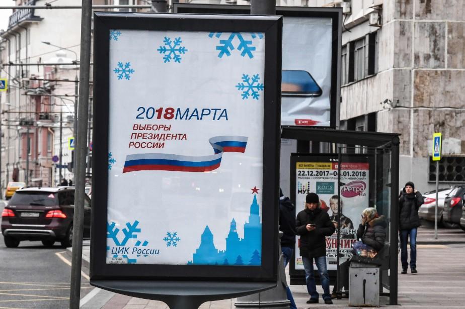 Les pancartes électorales commencent à être visibles dans... (Photo Mladen ANTONOV, AFP)