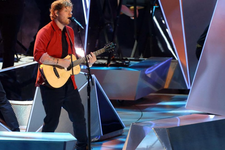 Ed Sheeran... (PhotoTOMMASO BODDI, Archives Agence France-Presse)