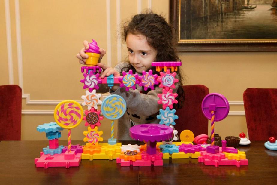 Les jouets axés à la fois sur les... (Photo Robert Skinner, La Presse)
