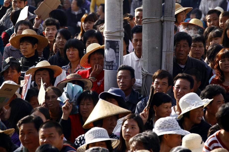Le public chinois a été invité la semaine... (REUTERS)