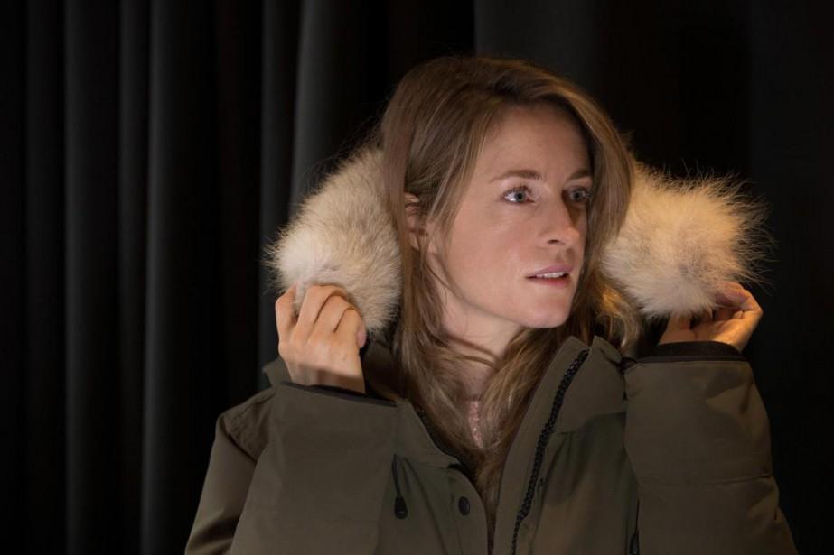 La comédienne et auteure Christine Beaulieu... (PHOTO IVANOH DEMERS, LA PRESSE)