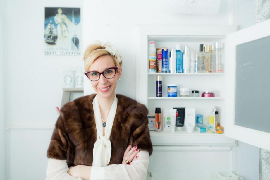 L'experte en parfums Clarisse Monereau... (Photo Edouard Plante-Fréchette, Archives La Presse)