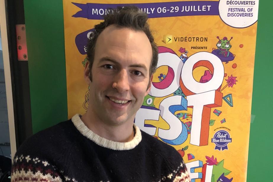 Le Zoofest a annoncé que le comédien Mathieu... (Photo fournie par le Zoofest)