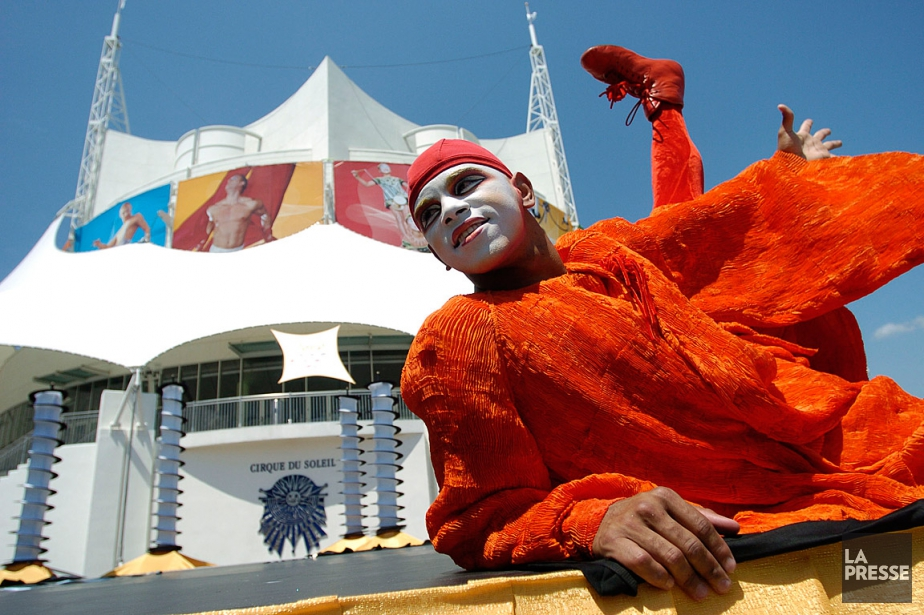 Le Cirque du Soleil renouvelle son partenariat avec... (PHOTO ALAIN ROBERGE, ARCHIVES LA PRESSE)