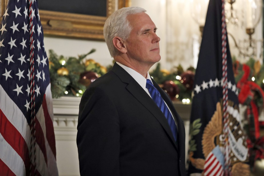 Mike Pence... (PHOTO AP)