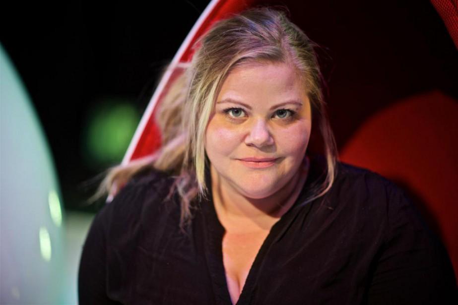 Geneviève Schmidt tient un des rôles deSilex, nouvelle... (Photo André Pichette, Archives La Presse)