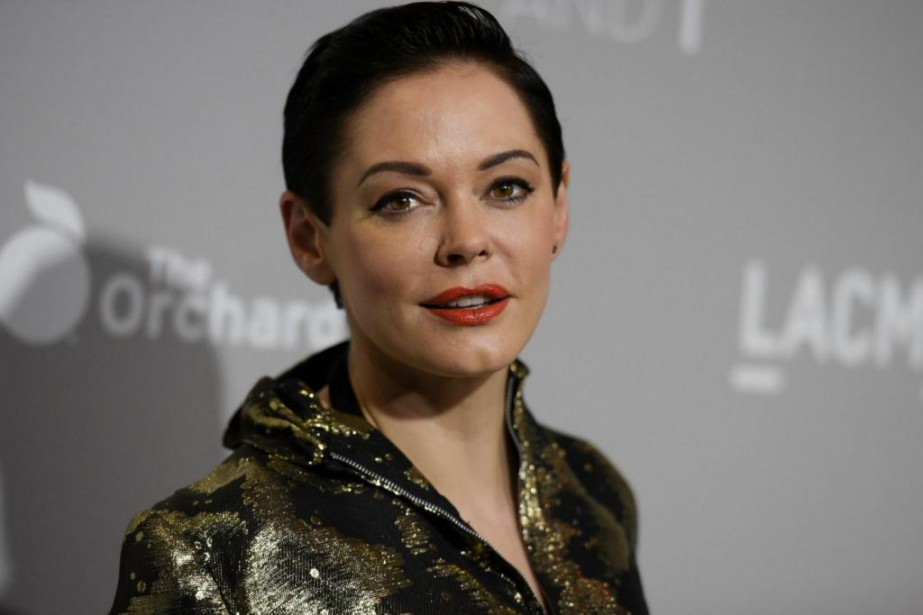 L'actrice Rose McGowan... (PHoto archives ASsociated Press)