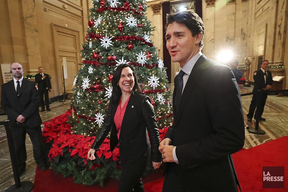 La mairesse de Montréal Valerie Plante a reçu... (Photo ROBERT SKINNER, LA PRESSE)