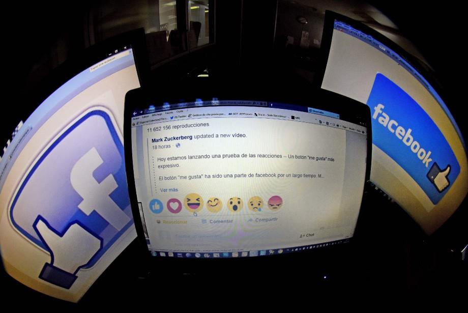 Facebook est passé maître dans l'art de creuser... (AFP)