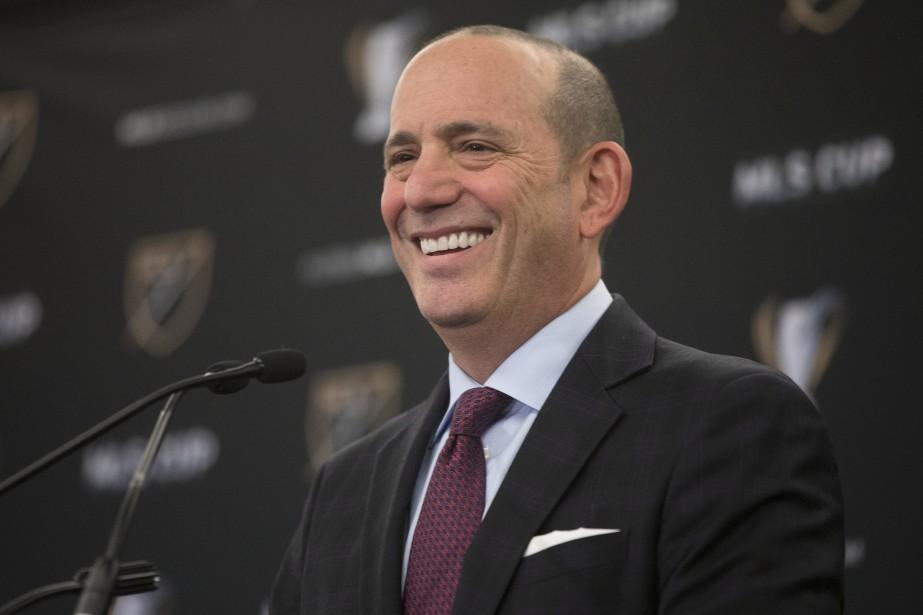 Le commissaire de la Major League Soccer, Don... (Photo Chris Young, archives PC)