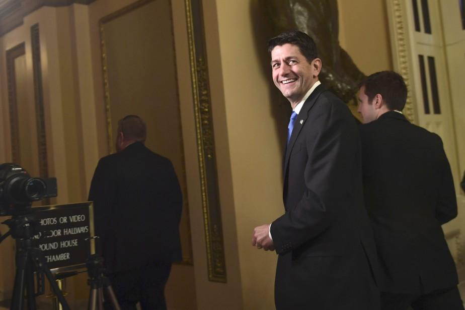 PaulRyan, président de la Chambre des représentants et... (Photo Susan Walsh, Associated Press)
