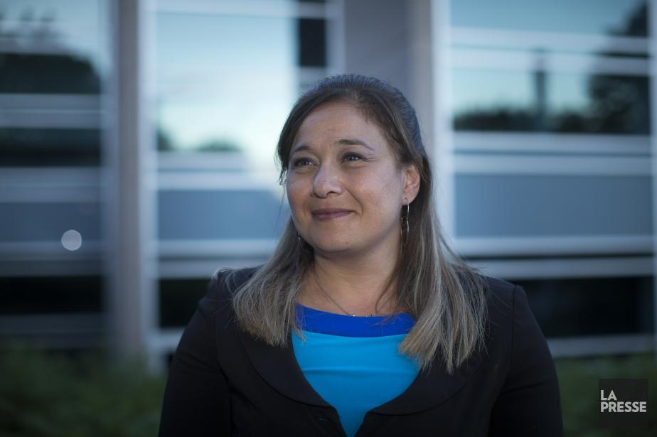 La nouvelle mairesse Doreen Assaad... (PHOTO OLIVIER PONTBRIAND, ARCHIVES LA PRESSE)