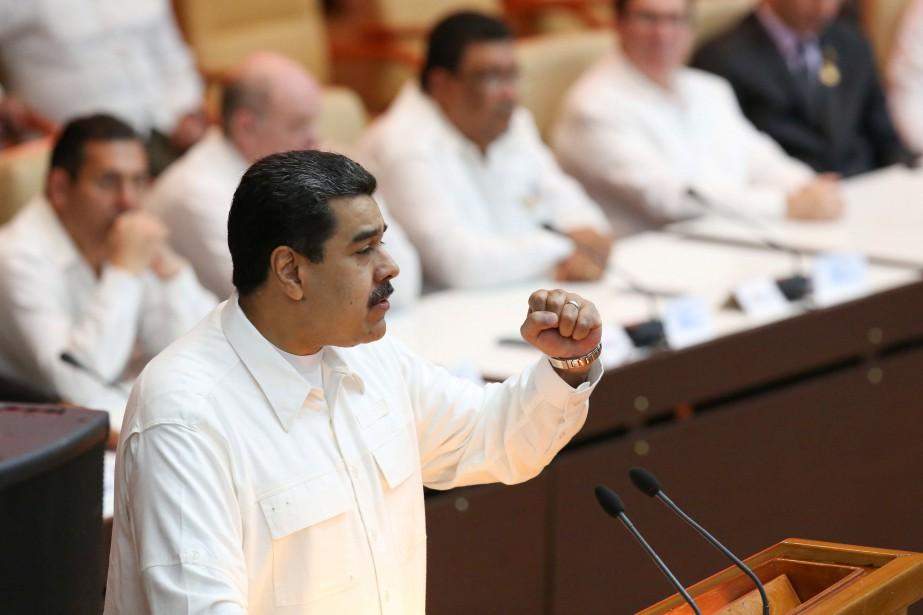 Le président du Venezuela, Nicolas Maduro... (PHOTO ARCHIVES REUTERS)
