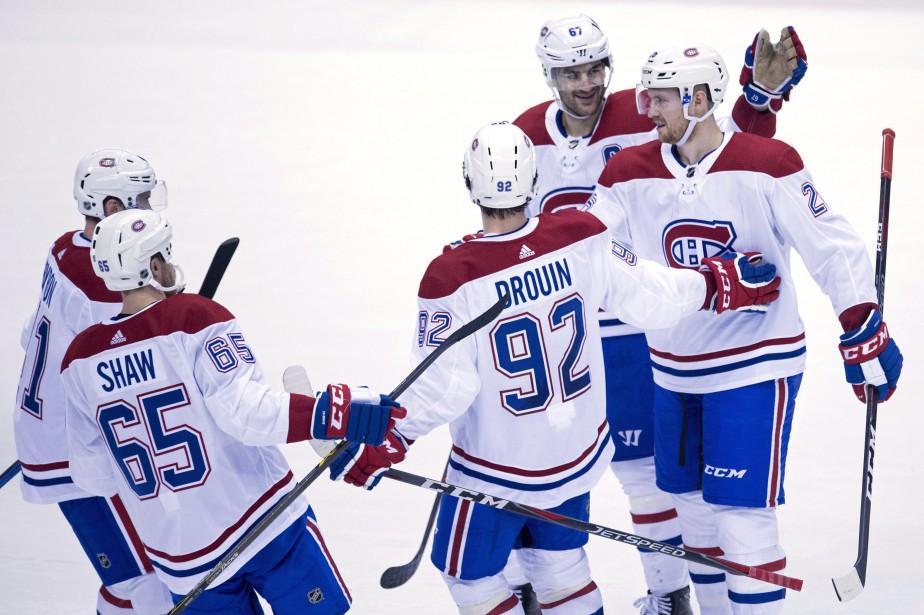 Le Canadien a remporté ses quatre derniers affrontements... (PHOTO Jonathan Hayward, LA PRESSE CANADIENNE)
