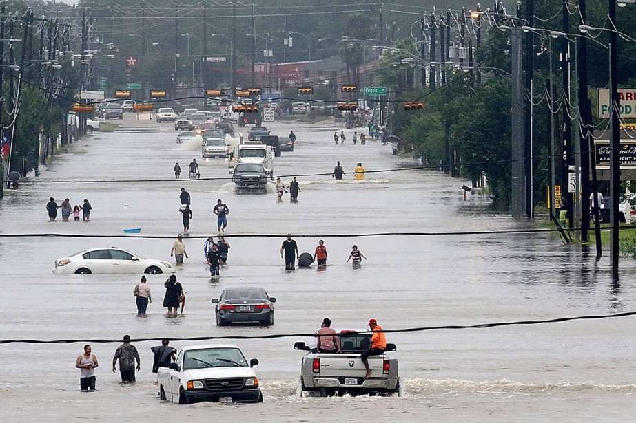 À la fin août, Houston, quatrième ville des... (Thomas B. Shea, AFP)