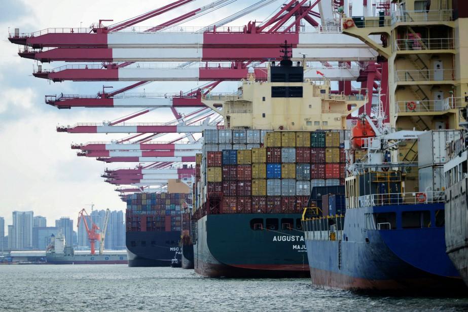 «La Chine s'engage à augmenter ses importations et... (AFP)