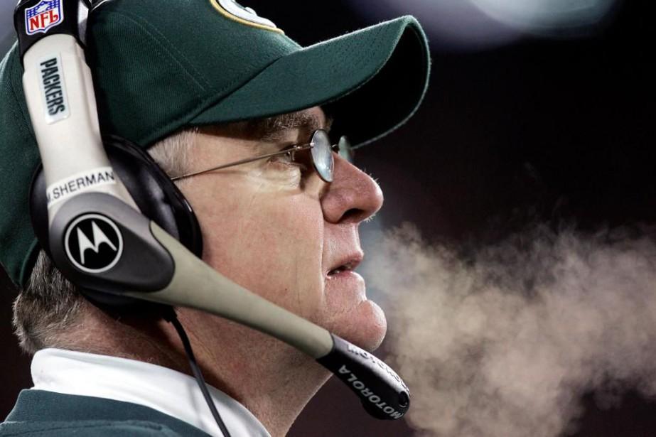 Mike Sherman a dirigé les Packers de Green... (Photo Morry Gash, archives Associated Press)