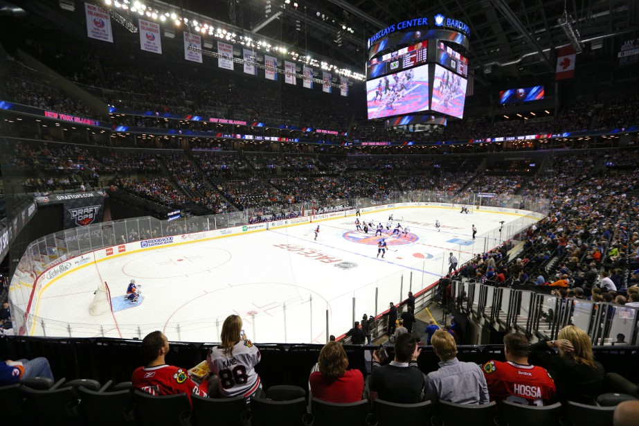 Les Islanders de New York évoluent au Barclays... (Photo Brad Penner, archives USA Today Sports)