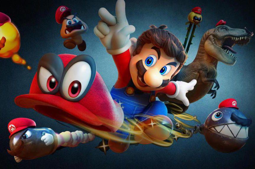 Super Mario Odyssey... (image fournie par la production)