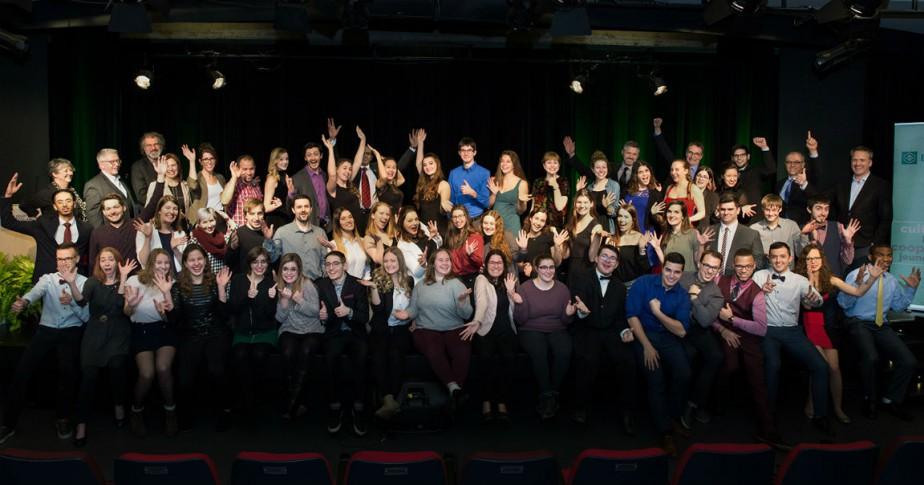 Le 13 décembre dernier, 75 étudiants du cégep... (Crédit Mélanie Dusseault)