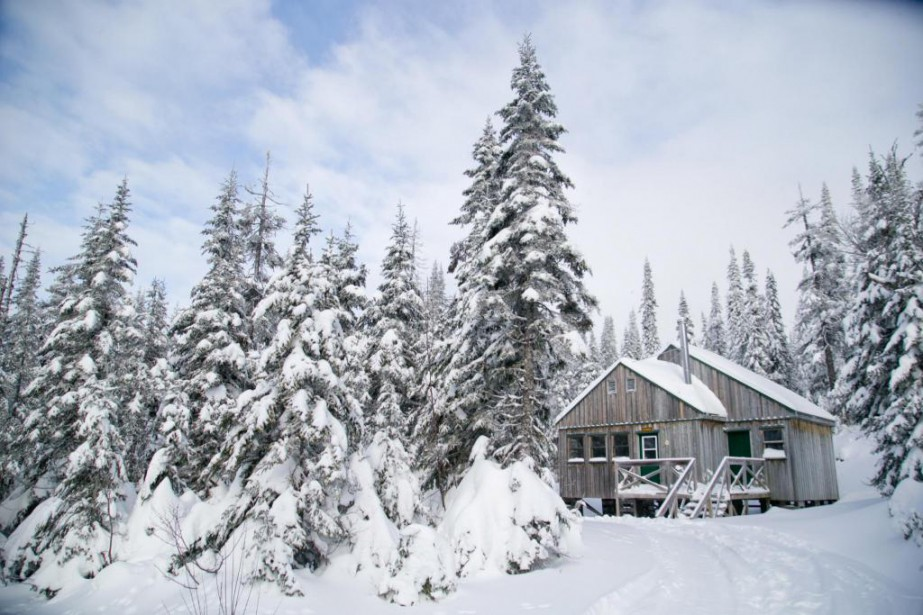 La neige ne manque pas au parc national... (Photo David Boily, La Presse)