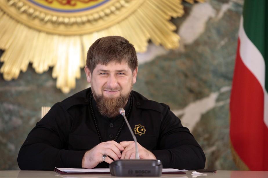 Ramzan Kadyrov a été inscrit sur les listes... (PHOTO AP)
