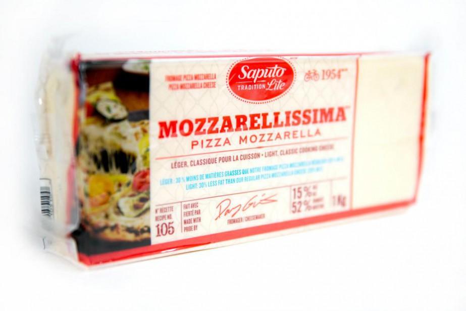 Fromage pizza Mozzarellissima léger... (Photo François Roy, La Presse)