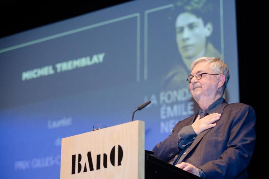 L'auteur Michel Tremblay... (PHOTO NINON PEDNAULT, COLLABORATION SPÉCIALE)