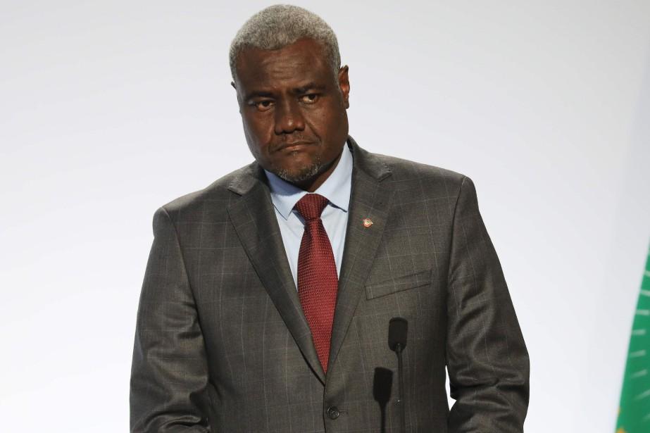 Le président de la Commission de l'Union africaine,... (Photo LUDOVIC MARIN, Archives Agence france-Presse)