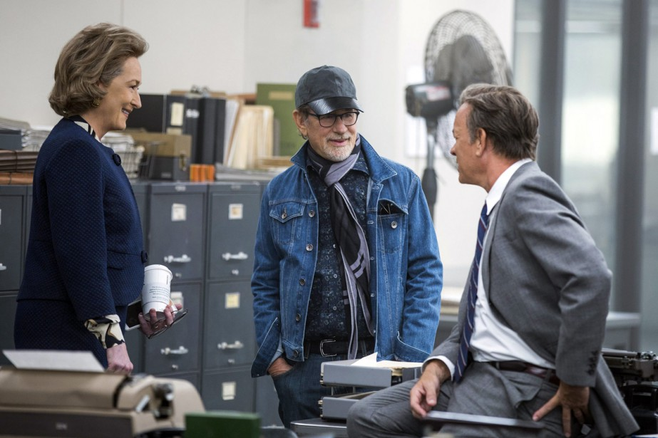 Meryl Streep, Steven Spielberg et Tom Hanks sur... (Photo fournie par 20th Century Fox)