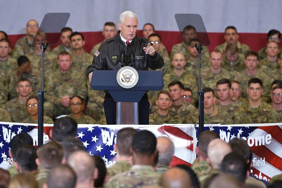 La visite duvice-président américain vise à remettre sous... (PHOTO AFP)