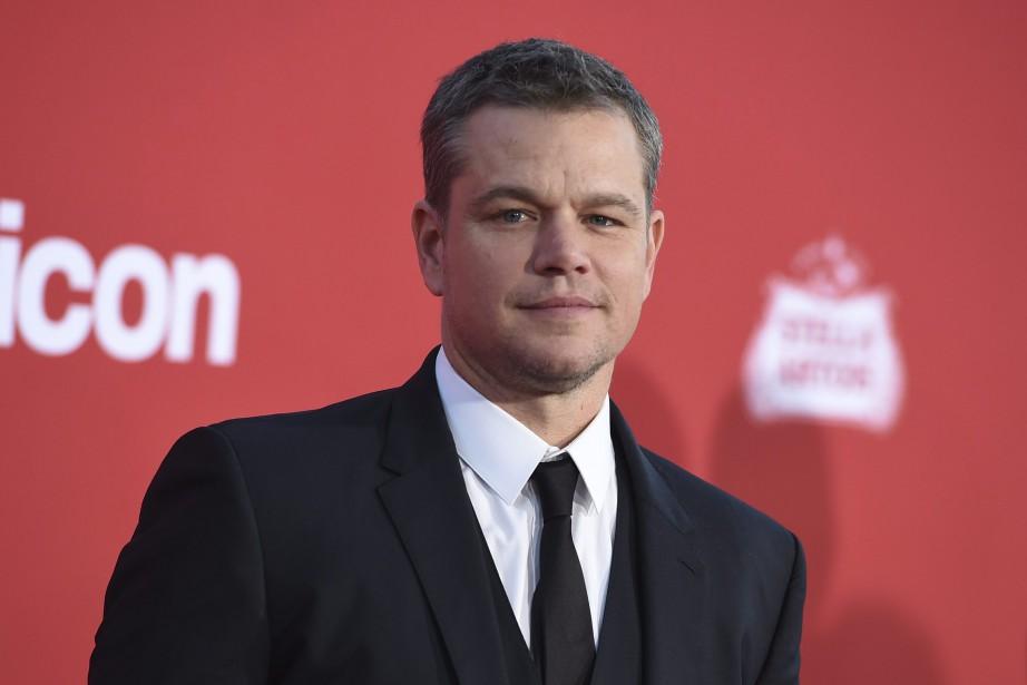 Matt Damon... (PHOTO AP)