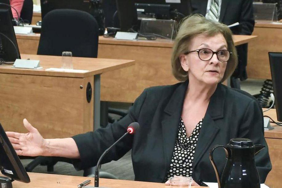 VioletteTrépanier a témoigné devant la commission Charbonneau en... (IMAGE TIRÉE D'UNE VIDÉO, LA PRESSE)
