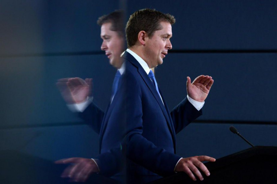 Andrew Scheer se dit ravi d'avoir contraint le... (PHOTO archives PC)