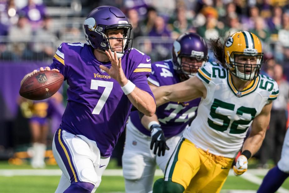 Les Vikings du Minnesota affronteront les Packers de... (Photo Brace Hemmelgarn, USA Today Sports)