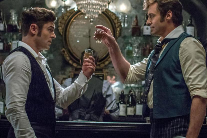 Zac Efron et Hugh Jackman dans The Greatest... (Photo fournie par 20th Century Fox)