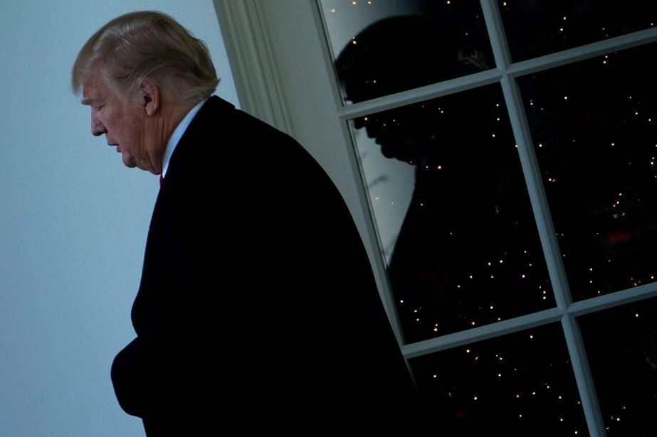 Le président américain Donald Trump était accusé par... (AFPPhoto Brendan Smialowski, AFP)
