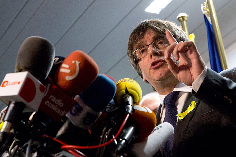 Carles Puigdemont a maintes fois affirmé sa volonté de... (PHOTO VIRGINIA MAYO, ASSOCIATED PRESS)