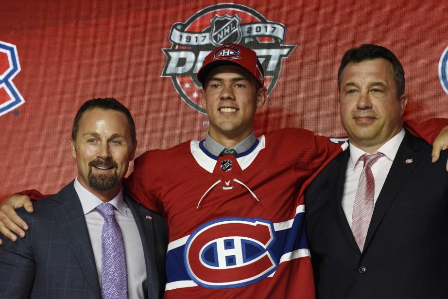 Ryan Poehling a été repêché par le Canadien... (Photo David Banks, archives USA TODAY Sports)